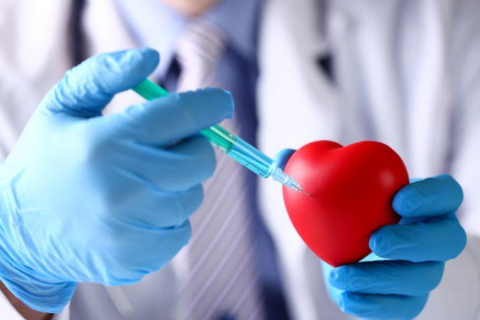 Insuffisance Cardiaque : petit coeur rouge avec le docteur