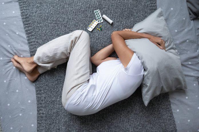 Processus de crise suicidaire : malade dans son lit