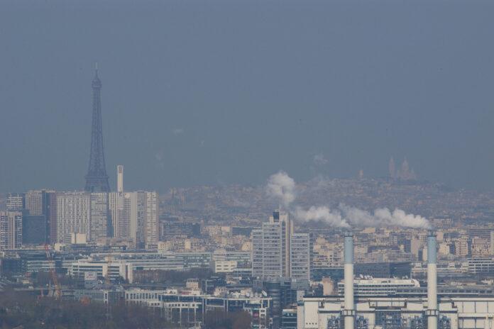Paris, 7e ville plus polluée d'Europe
