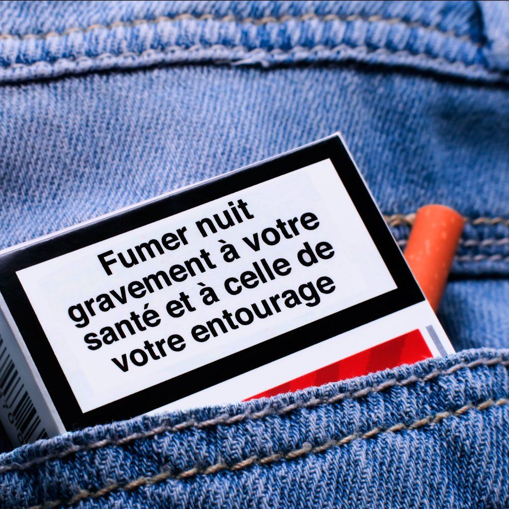 Tabagisme : un paquet de cigarette !