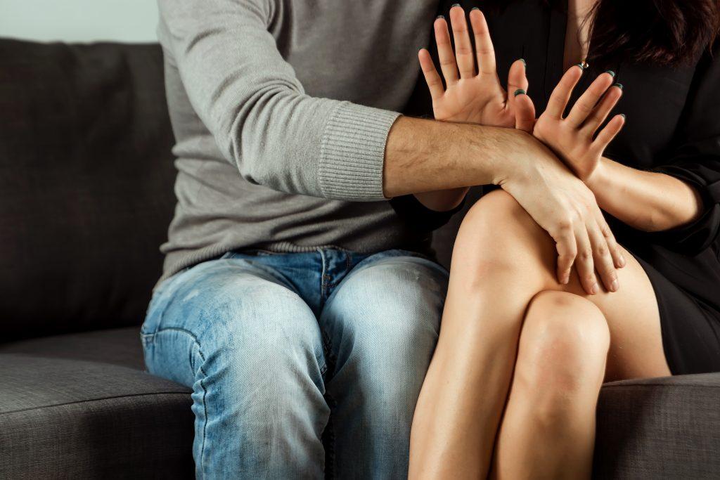 vaginisme : femme qui refuse un homme