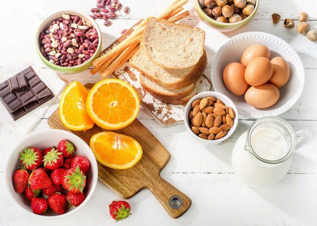 a quoi peut on être allergique : allergie alimentaire