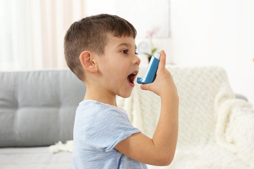 asthme : enfant Ventoline