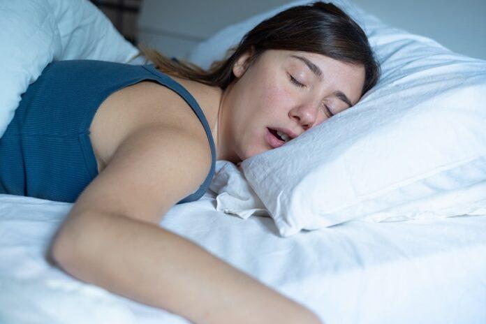 Trouble du sommeil : femme
